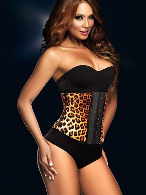 Ann Chery Animal Print Leopard Latex Waist Trainer - #1 Seller 1